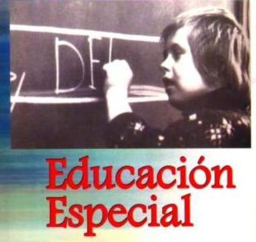 Acciones que consolidan la Educación especial en el país