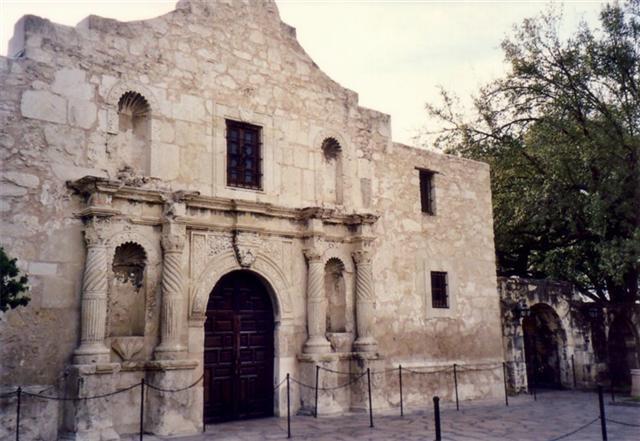 San Antonio de Valero mission
