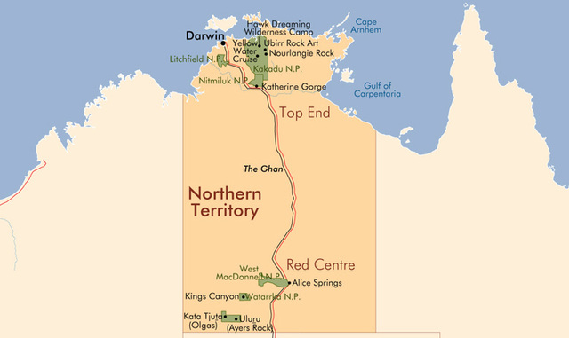 Northern Territory comes self-governing