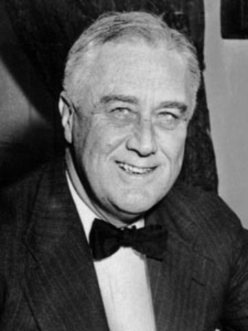 Franklin D. Roosevelt- Leader of the U.S.