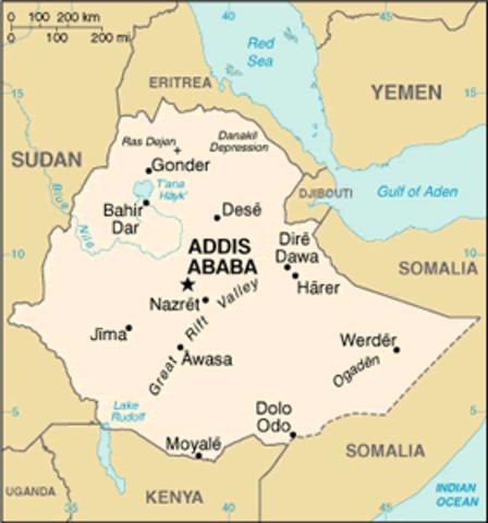 Troop buildup in Ethiopia