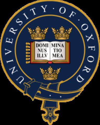 Universidad de Oxford  - INGLATERRA