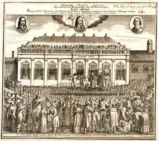 King Charles I is beheaded