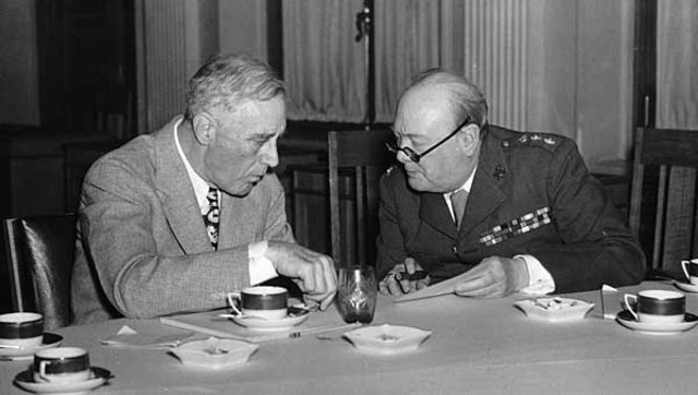 War Plans with Churchill and FDR