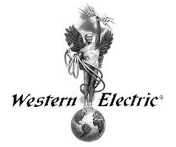 Shewhart se une a la Western Electric Company