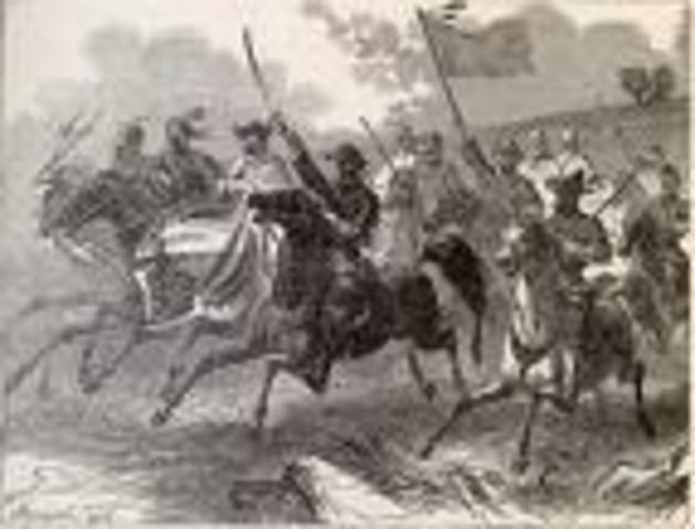 battle of palo alto is the first major battle of the two year Mexican war