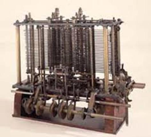 Diseño de la maquina analitica
