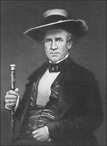 General Sam Houston becomes president of the rupublic of Texas
