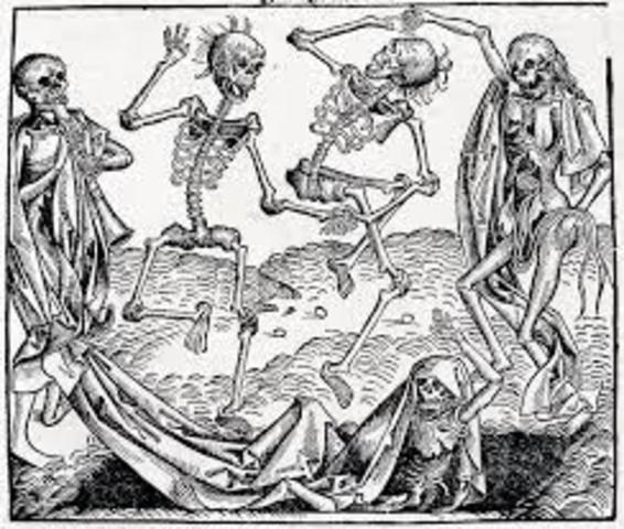 black death begins in Europe