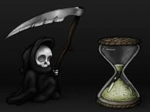 Black Death Beins In Europe