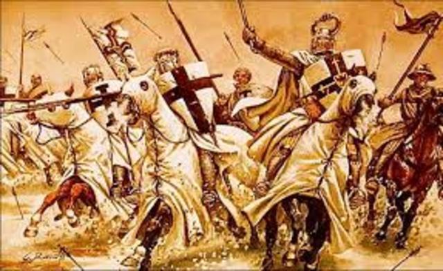 Crusades are faught