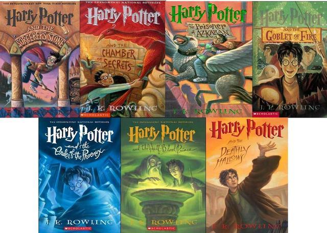 Harry Potter Series by jk rowling