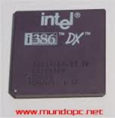 Microprocesador 80386 DX