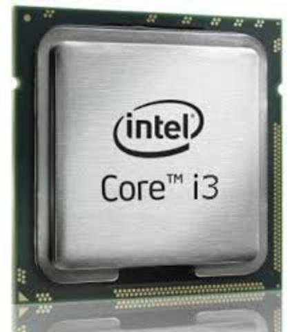 Microprocesador Core i3