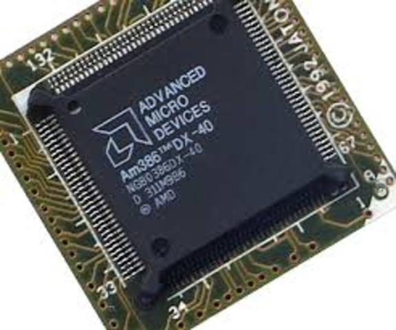 Microprocesador AM386