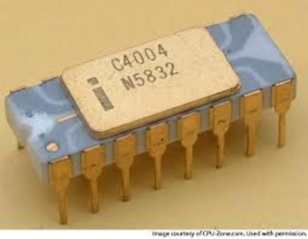 •1971: El Intel 4004