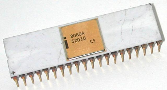 •1974: El Intel 8080