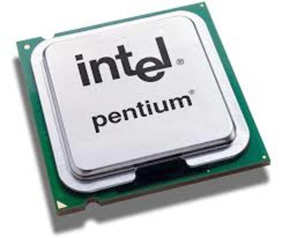 •1993: El Intel Pentium
