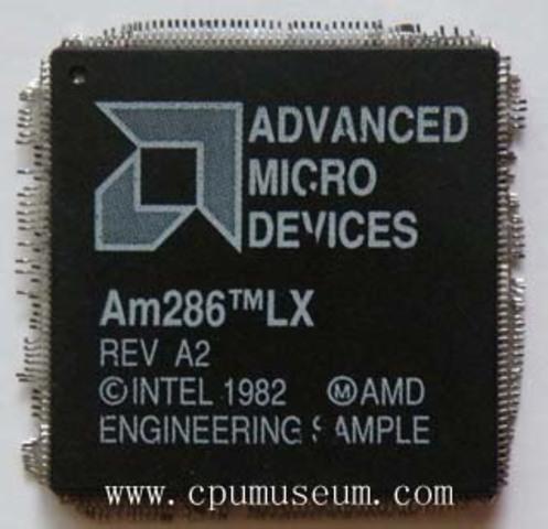 Microprocesador AM286