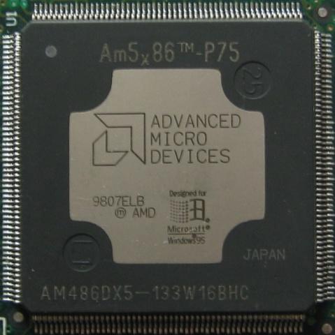 Microprocesador AMD x86