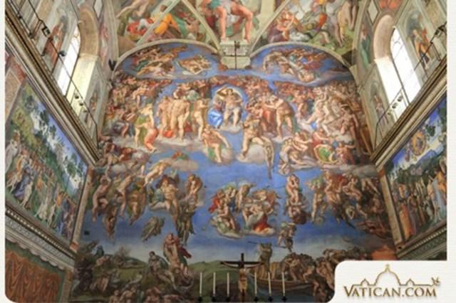 Michelangelo begins painting Sistine Chaple