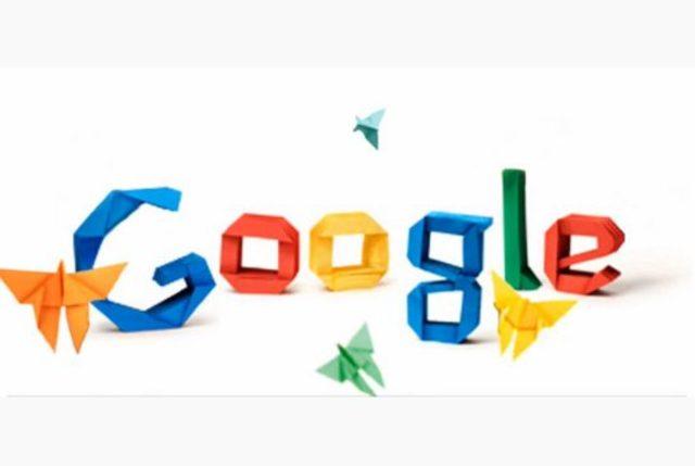 Inicio de la creacion  de Google