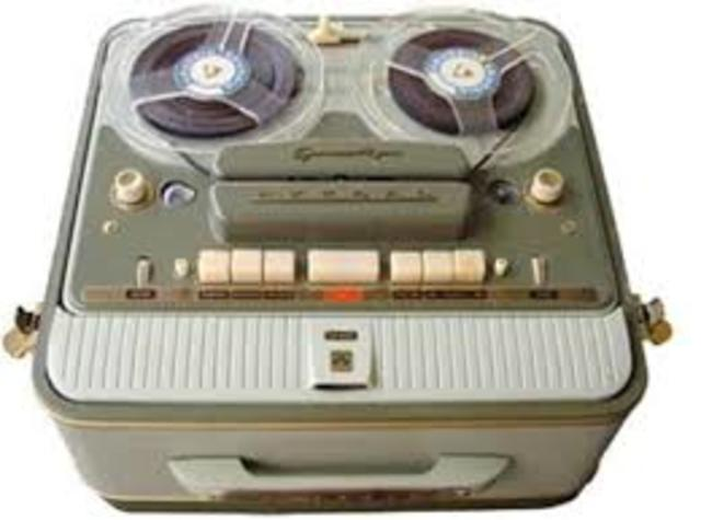 The first pre-recorded reel-to-reel tape