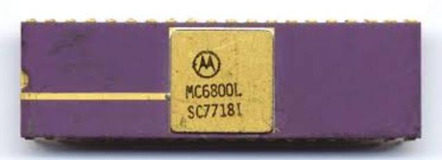 Microprocesador Motorola 6800