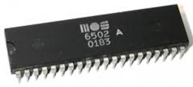Microprocesador MOS 6501