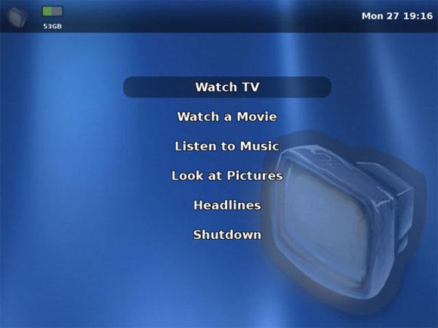Primer TV basado en Linux
