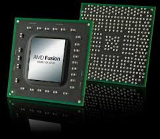 Microprocesador AMD Fusión