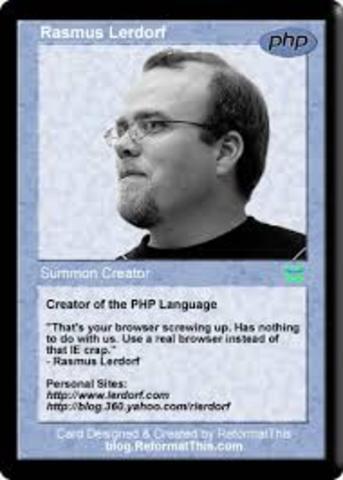 SE CREA EL LENGUAJE PHP