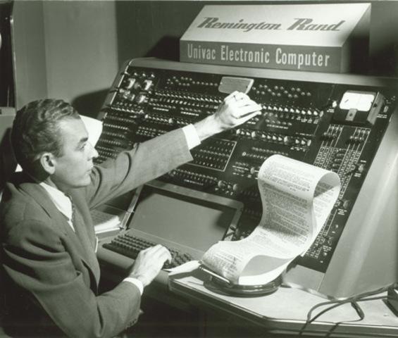 """Primera Generación """" COMPUTADORA UNIVAC"""""""