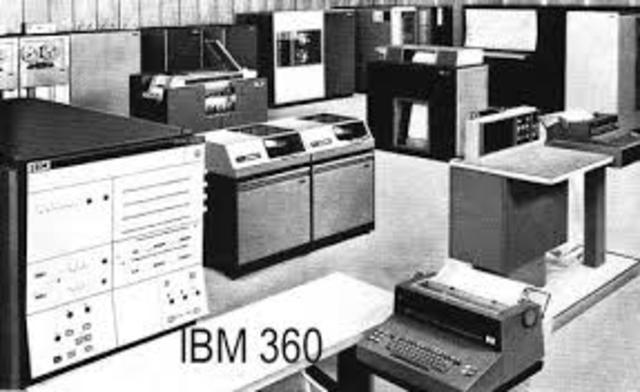 """Segunda Generación """"IBM 360"""""""
