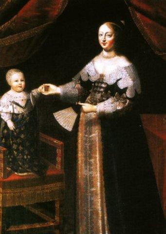 Birth of Louis XIV