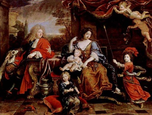 Birth of his children