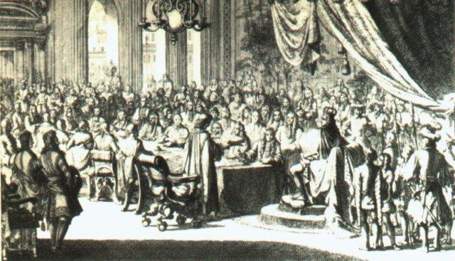 Louis cancels Edict of Nantes