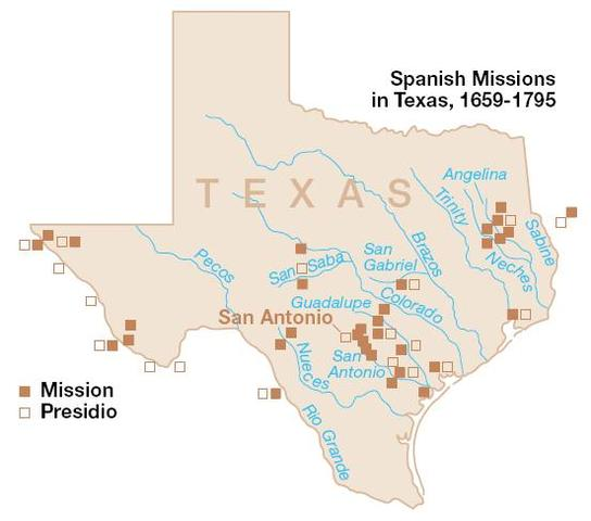 most missions in texas are closed