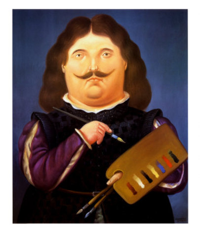 Fernando Botero - Velasquez