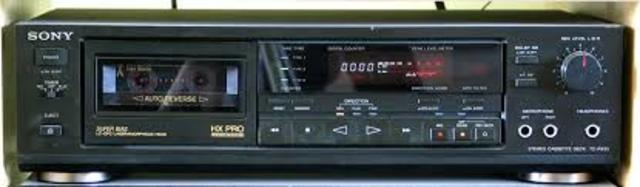 """The """"Dolby-B"""" noise reduction system is introduced for consumer reel-to-reel and cassette tape recorders."""