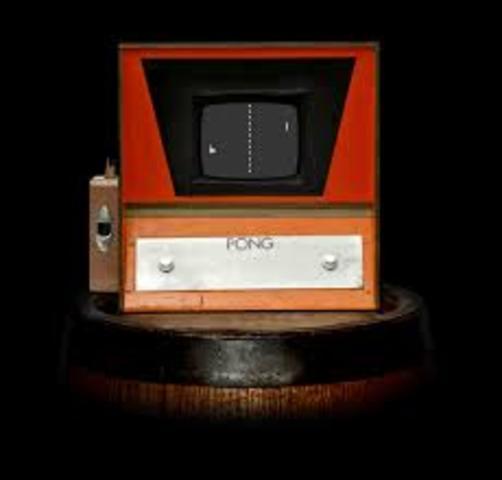 "Atari of Santa Clara, CA develops ""Pong"" -- the first electronic computer arcade game."