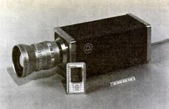 """The first all solid-state video cameras are introduced using Bell Labs """"CCD"""" charge-coupled device instead of an Image Orthicon or Plumbicon camera tube"""