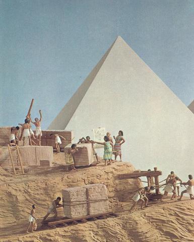 (3000 A.C.)  Surge la Ingenieria Egipcia
