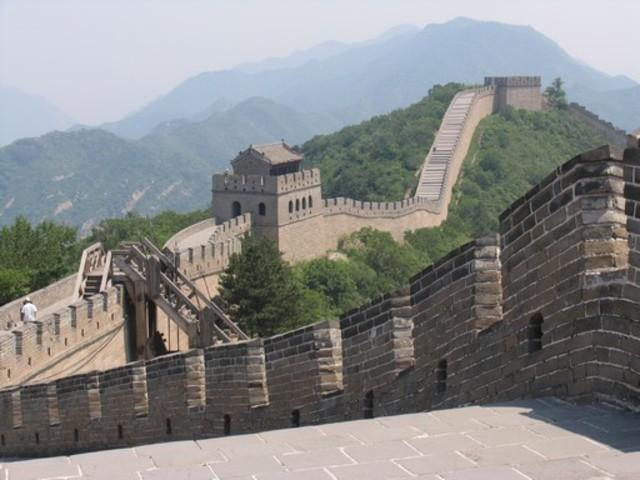 Creacion de la muralla China