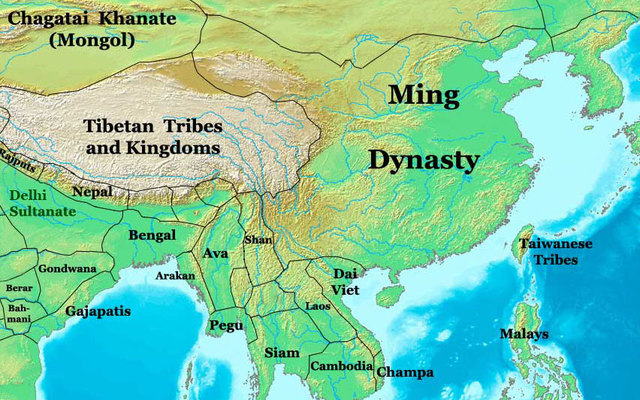 Ming Dynasty begins in China