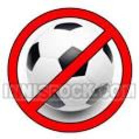 Winchester prohíben el fútbol