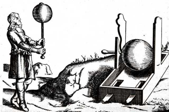 Otto von Guericke: Primera maquina electroestática