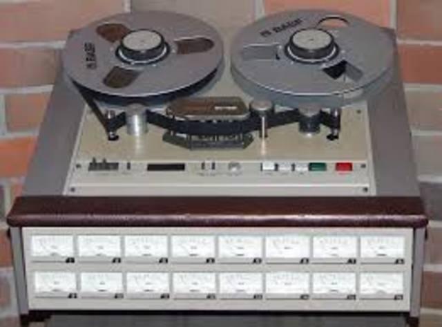Multitrack analog tape recording