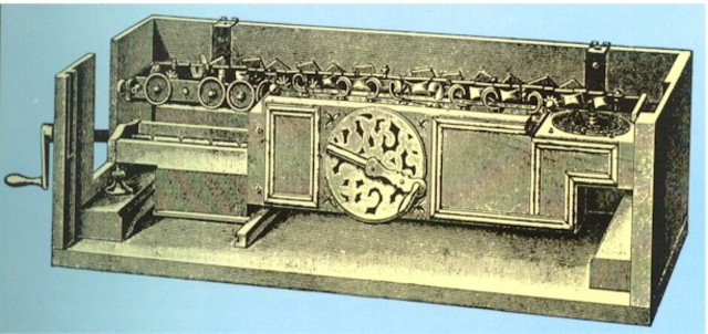 Calculadora universal, (1671 DC)