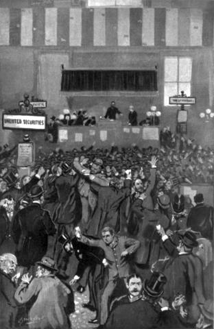 Depression of 1893 begins